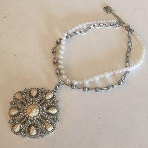 Betsey Johnson statement necklace